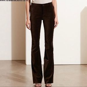 Ralph Lauren Black Label Brown Velvet Pants